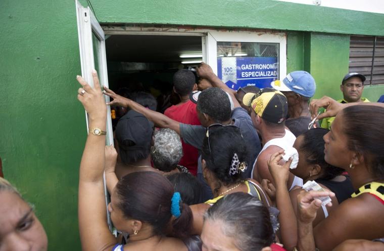 IMAGE: Cuba hurricane preparations