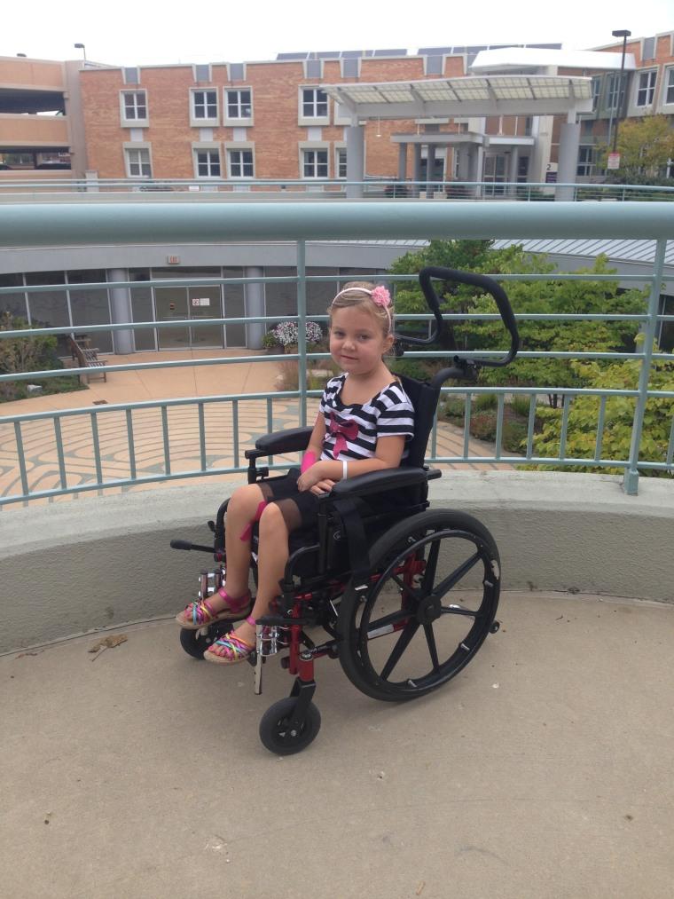 Laura Carson developed Acute Flaccid Myelitis