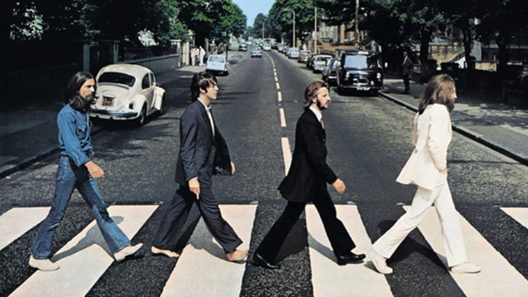 The Beatles album cover Abbey Road