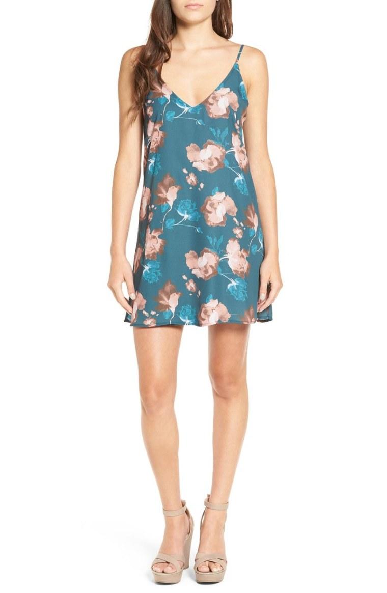 Ten Sixty Sherman floral slip dress