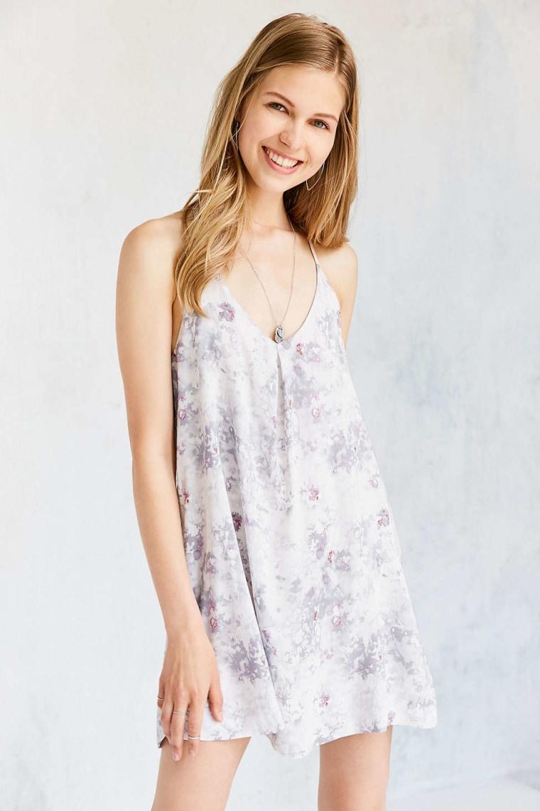 Silence + Noise floral slip dress