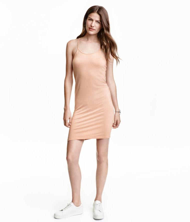 H&M lyocell slip dress