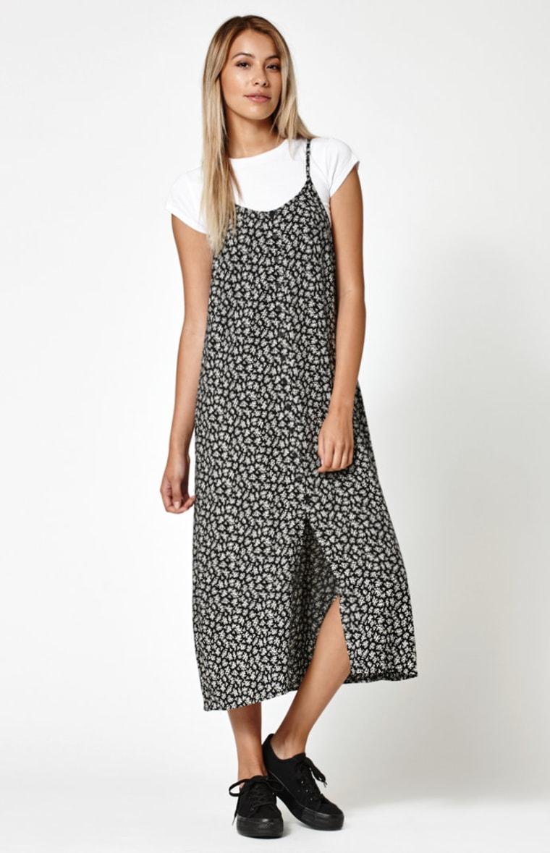 Lisakai button-front slip dress