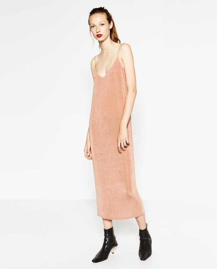 Zara slip dress