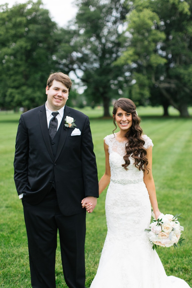 Newlyweds Kinsey and Josh French first met in middle school.