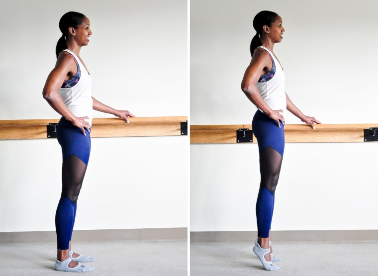 Tone Up Tuesday: Heel Lifts