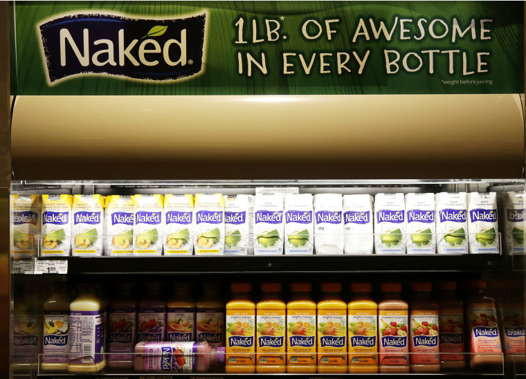 Naked brand juices