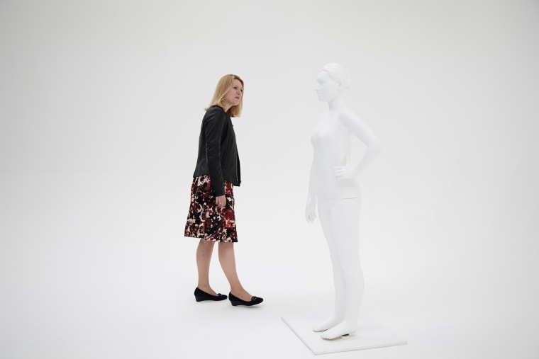 A mannequin was created and 3D-printed in the likeness of a real-life customer by UK brand Long Tall Sally.