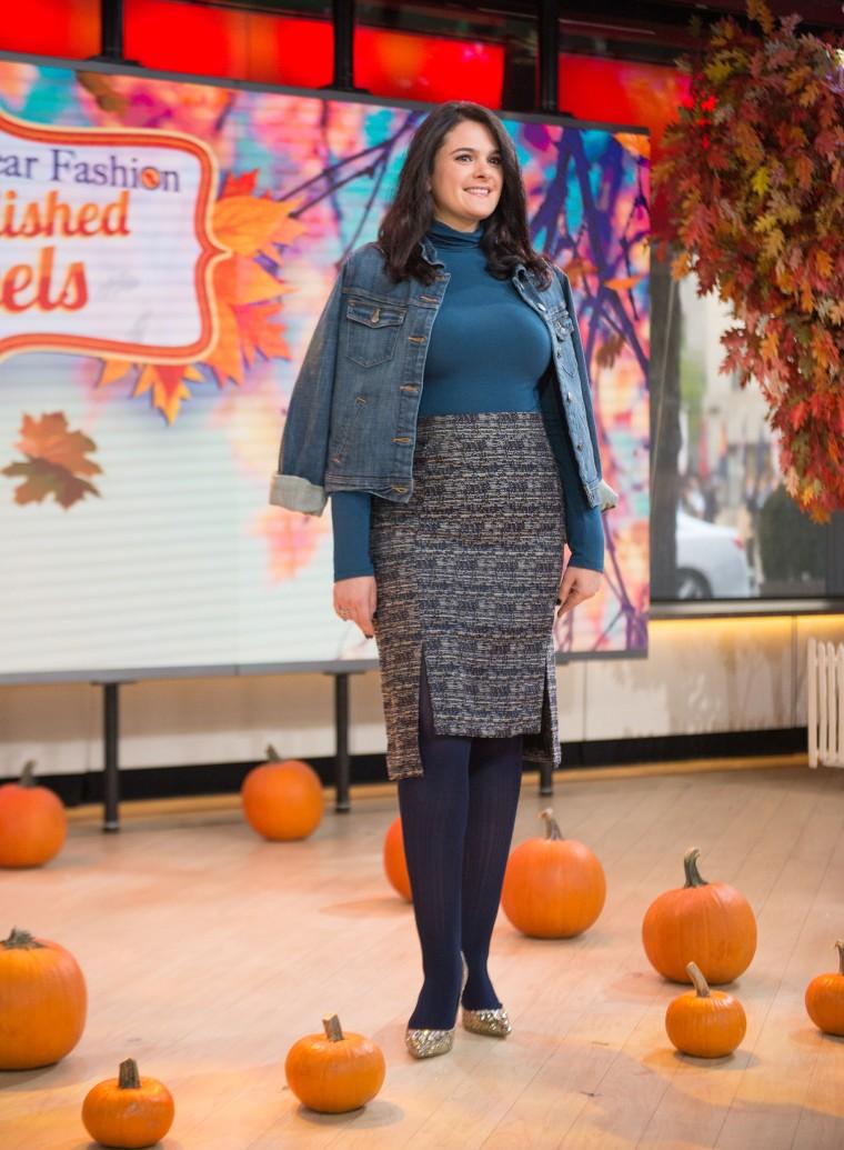 Fall embellished heels