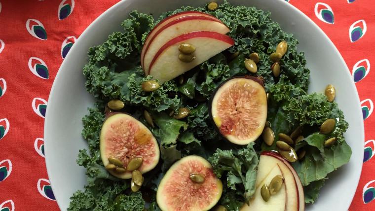 Pumpkin Seed and Apple Cider Salad Dressing