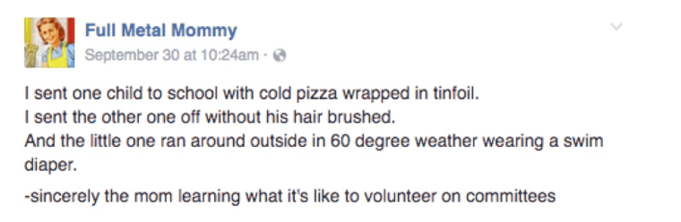 IMAGE: Volunteer post