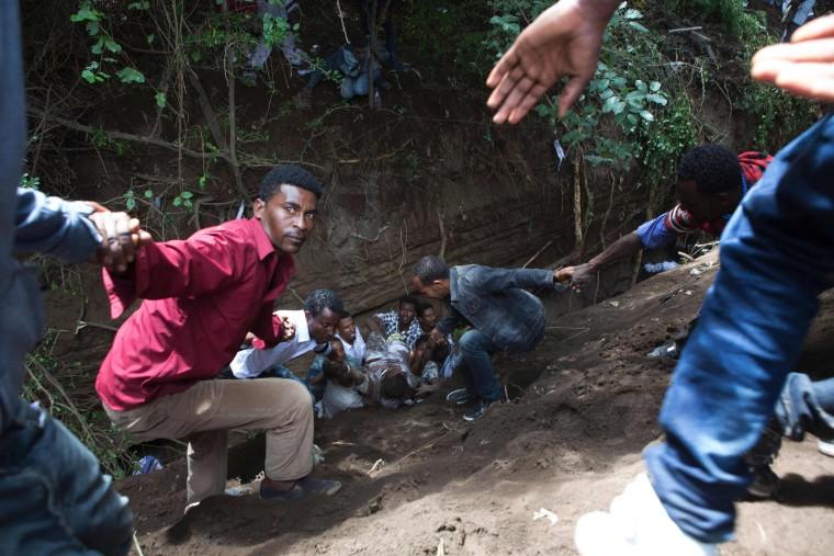 Image: ETHIOPIA-RELIGION-RIOT