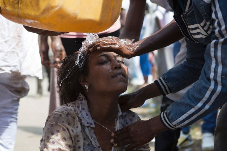 Image: ETHIOPIA-RELIGION-UNREST