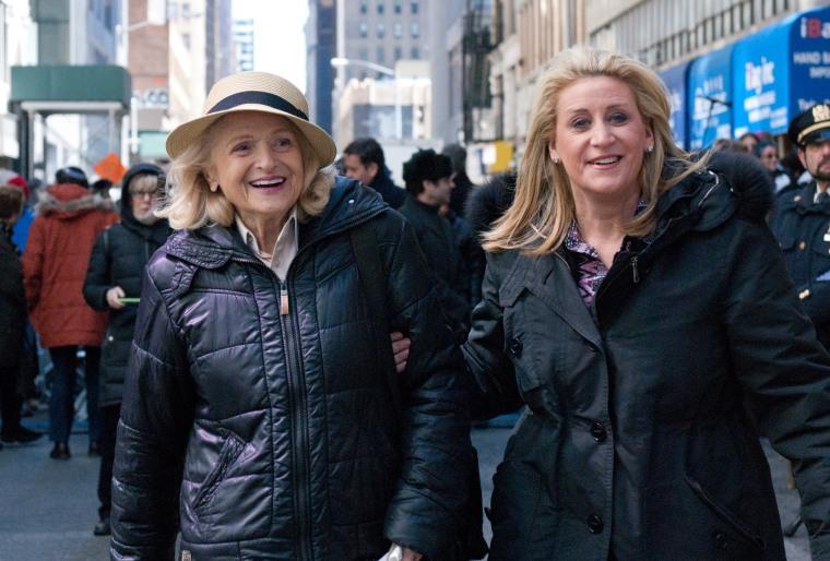 Edie Windsor (left) and Judith Kasen (right).