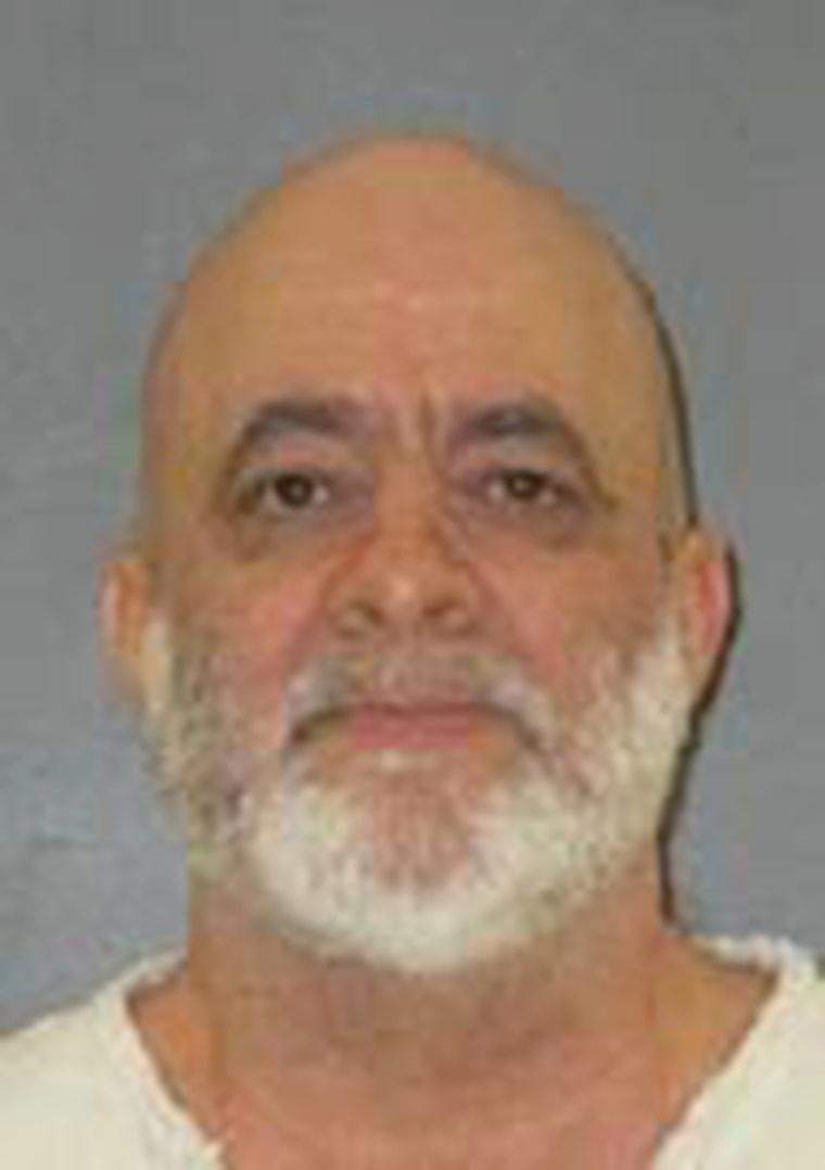 Texas death row inmate Barney Fuller