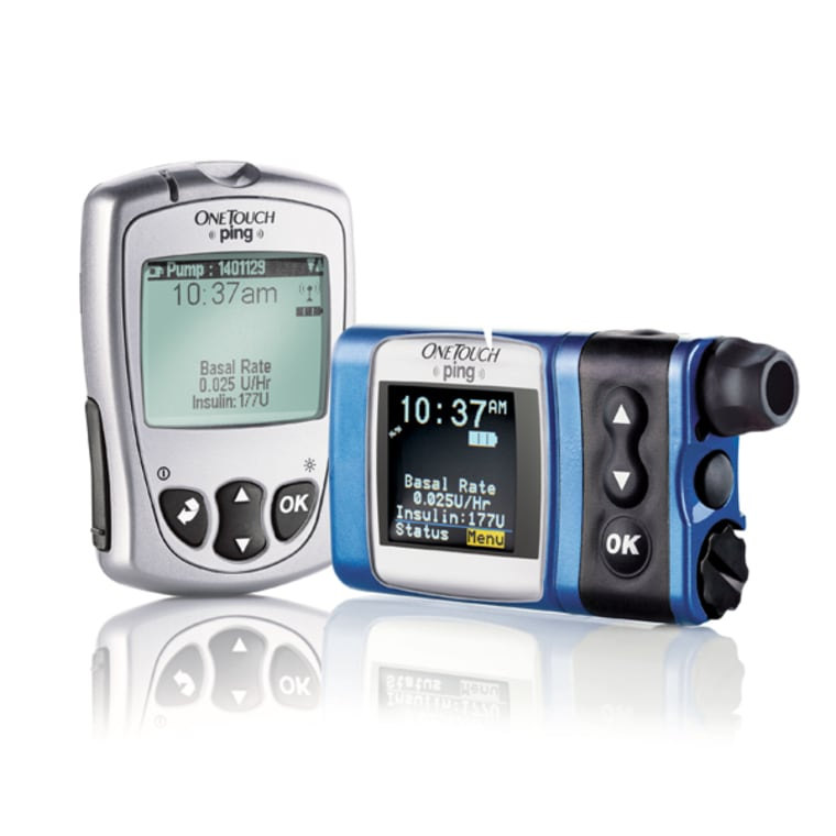 The OneTouch Ping Insulin Pump and Meter