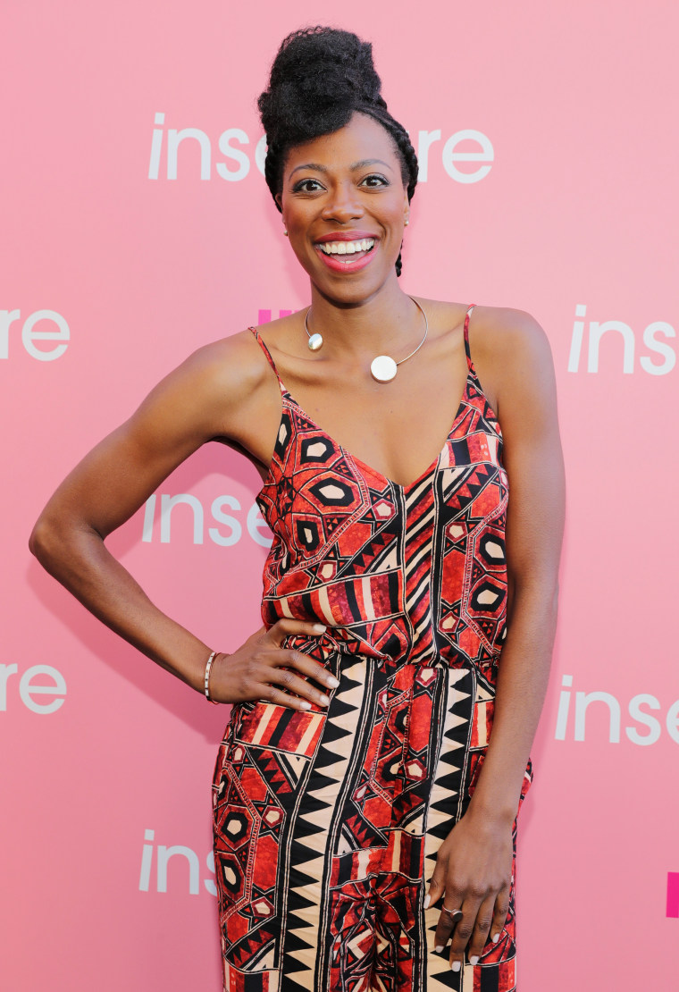 """Image: HBO's \""""Insecure\"""" actress Yvonne Orji"""