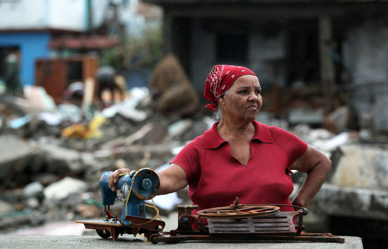 Image: Hurricane Matthew hits Cuba