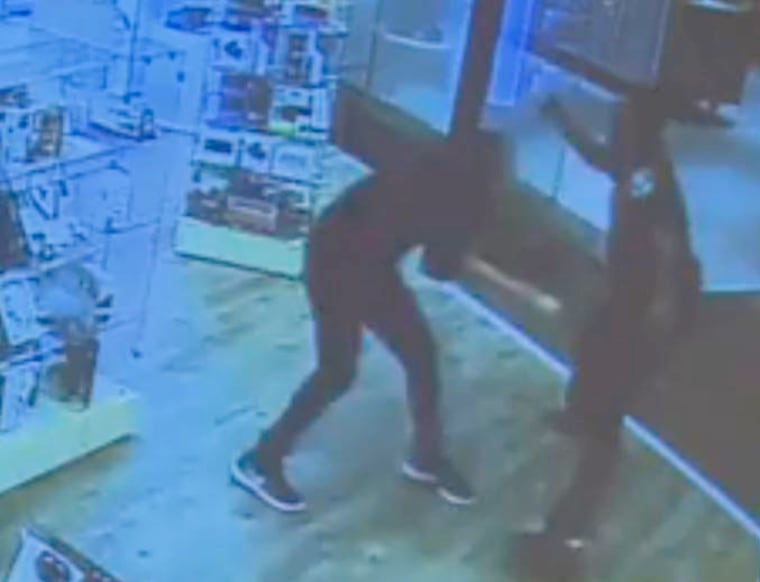 Officials in Minnesota surveillance video showing a knife rampage at a St. Cloud mall last month, and said an off-duty police officer was legally justified in fatally shooting the suspect, 20-year-old Dahir Ahmed Adan.
