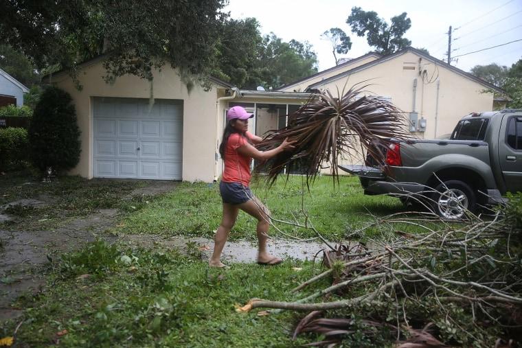 Image: Florida Prepares As Hurricane Matthew Barrels Towards Atlantic Coast