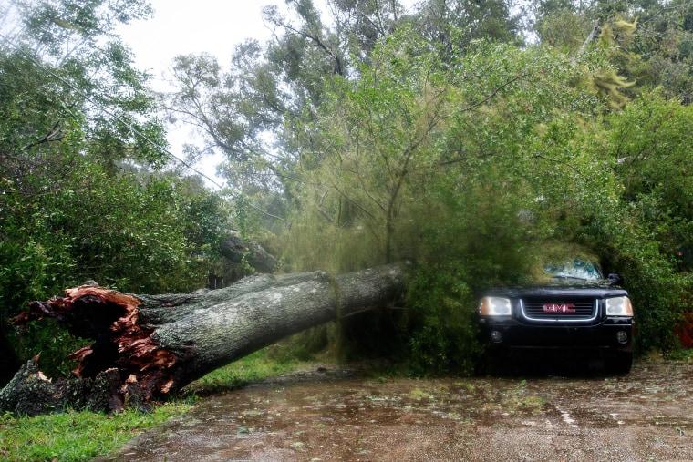 Image: Hurricane Matthew Bears Down On Atlantic Coast Of Florida