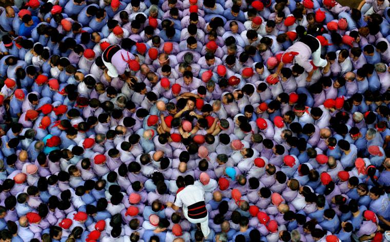 Image:  Colla Jove Xiquets de Tarragona