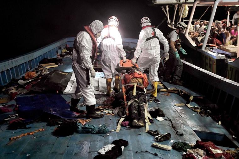 Image: Mediterranean Sea rescue