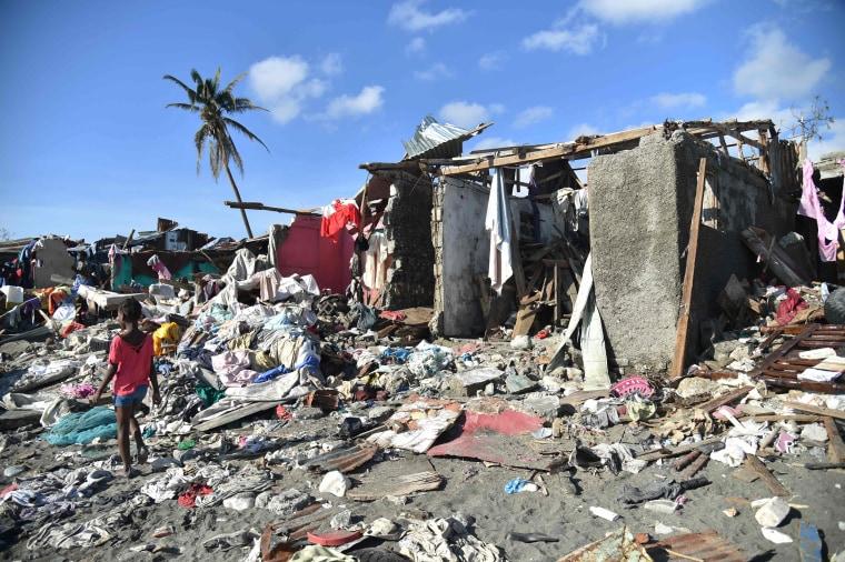 Image: HAITI-CARIBBEAN-WEATHER-HURRICANE