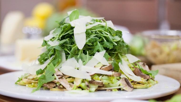 Anthony Scotto's Shaved Raw Artichoke Salad