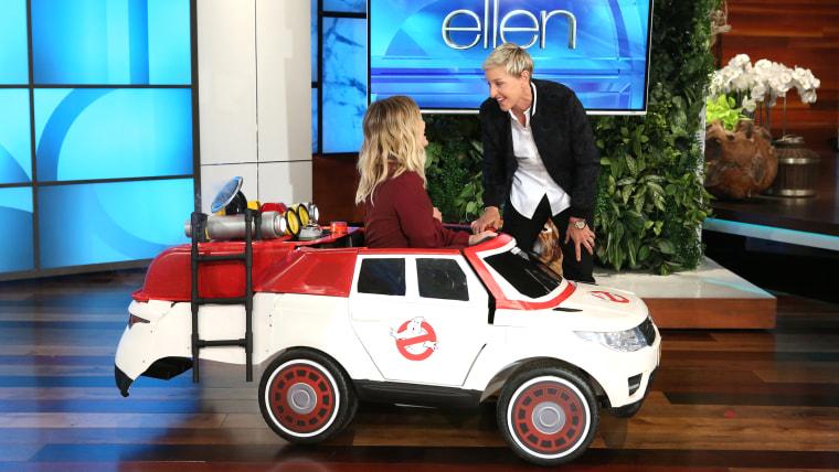 Ellen DeGeneres, Hilary Duff