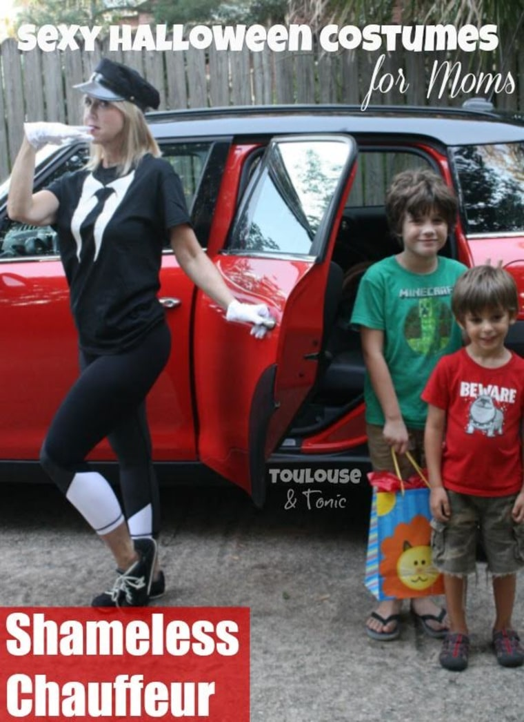 IMAGE: Sexy chauffeur costume