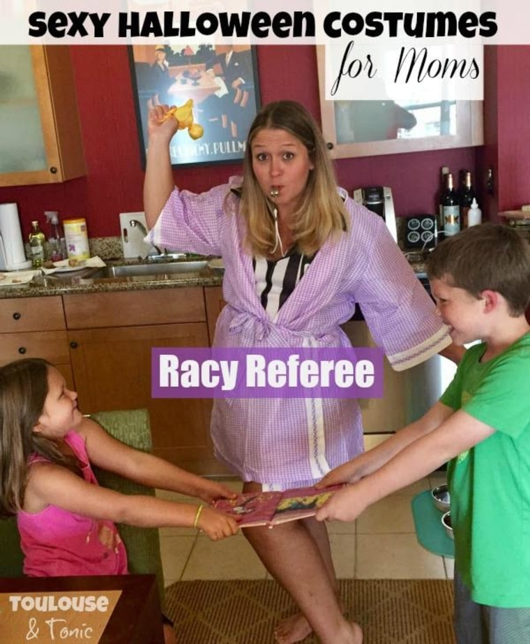 IMAGE: Racy Referee costume