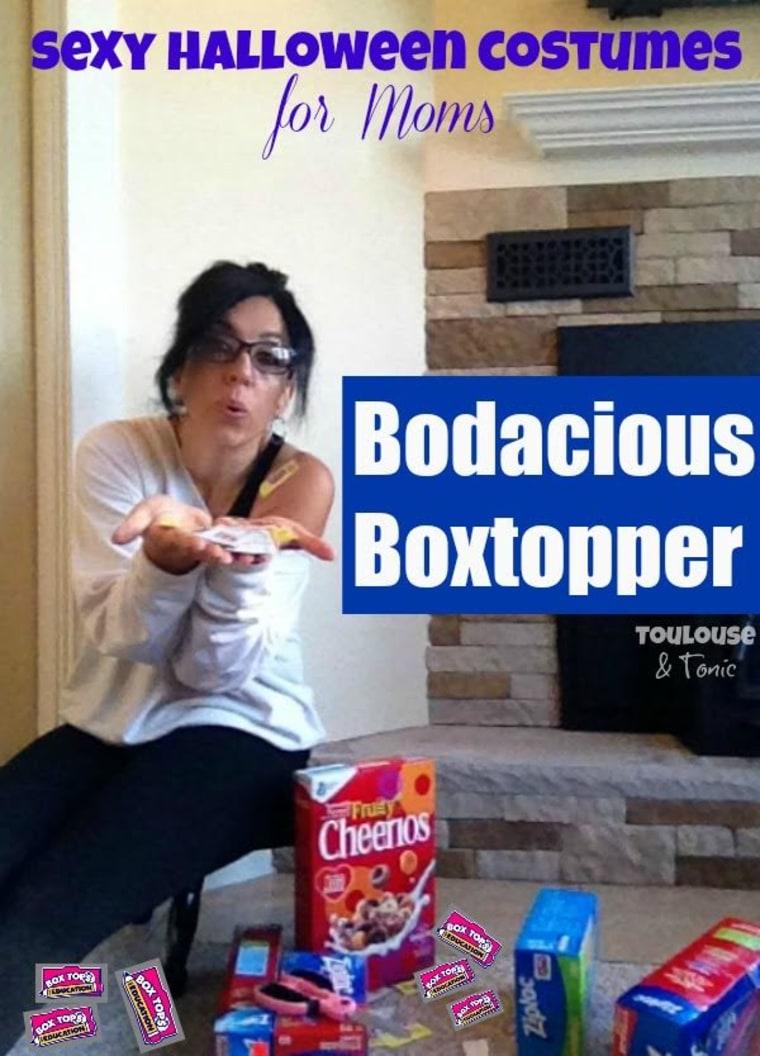 IMAGE: Boxtopper costume
