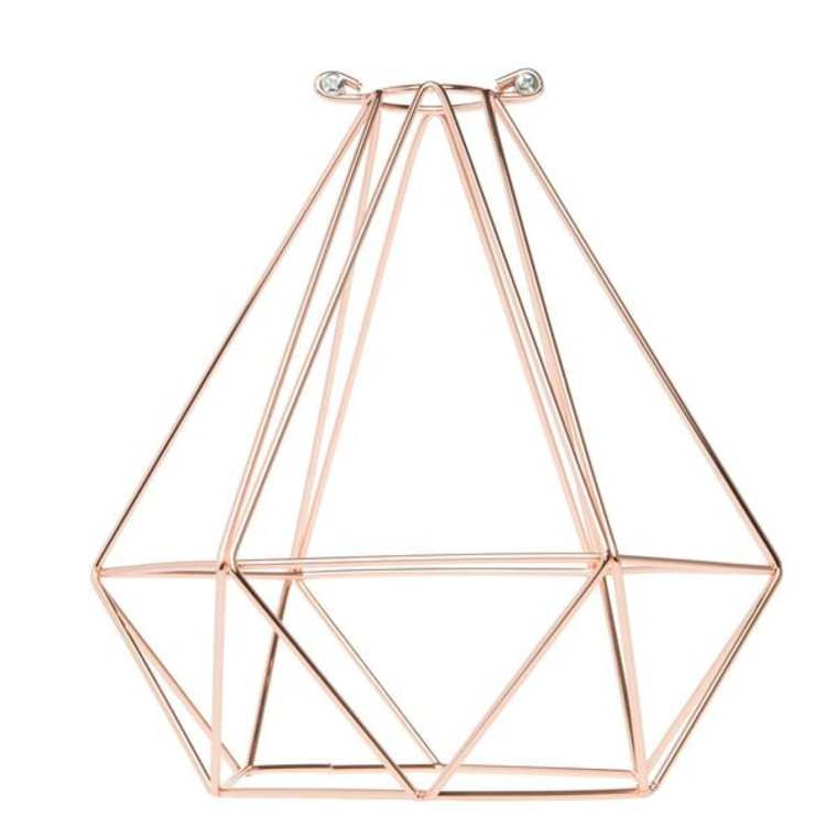 Geometric bulb cage