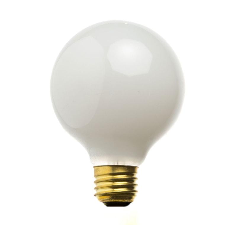 Milkglass Globe Bulb