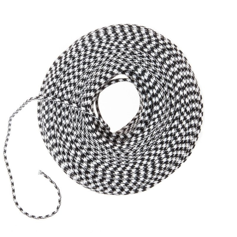 Houndstooth fabric wire