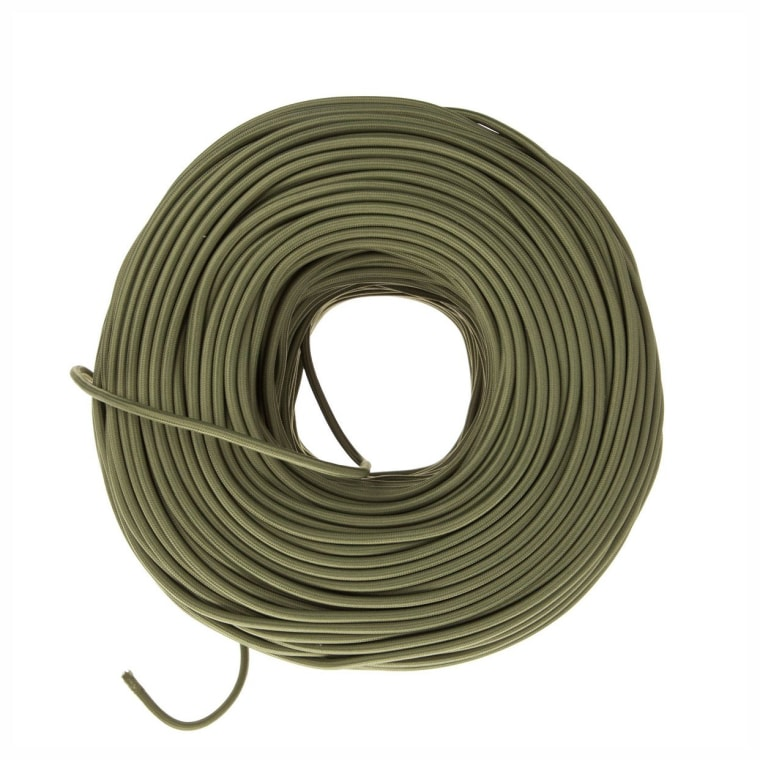 Olive fabric wire