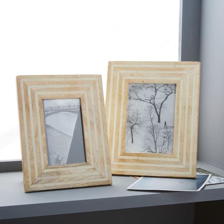 Wood + bone frames