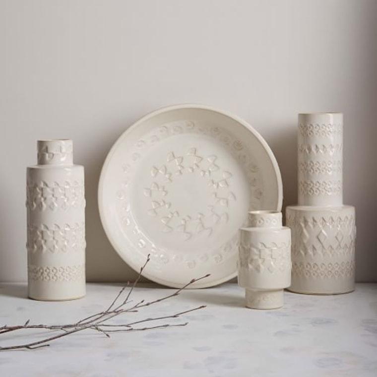 West Elm Ceramic Vases