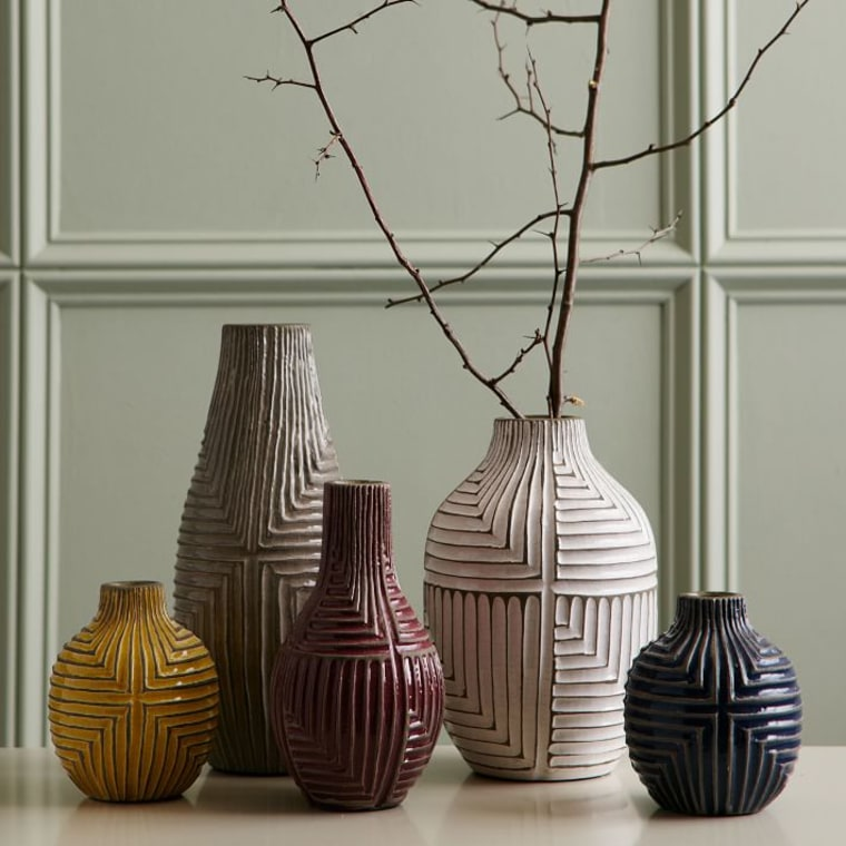 West Elm Linework Vases