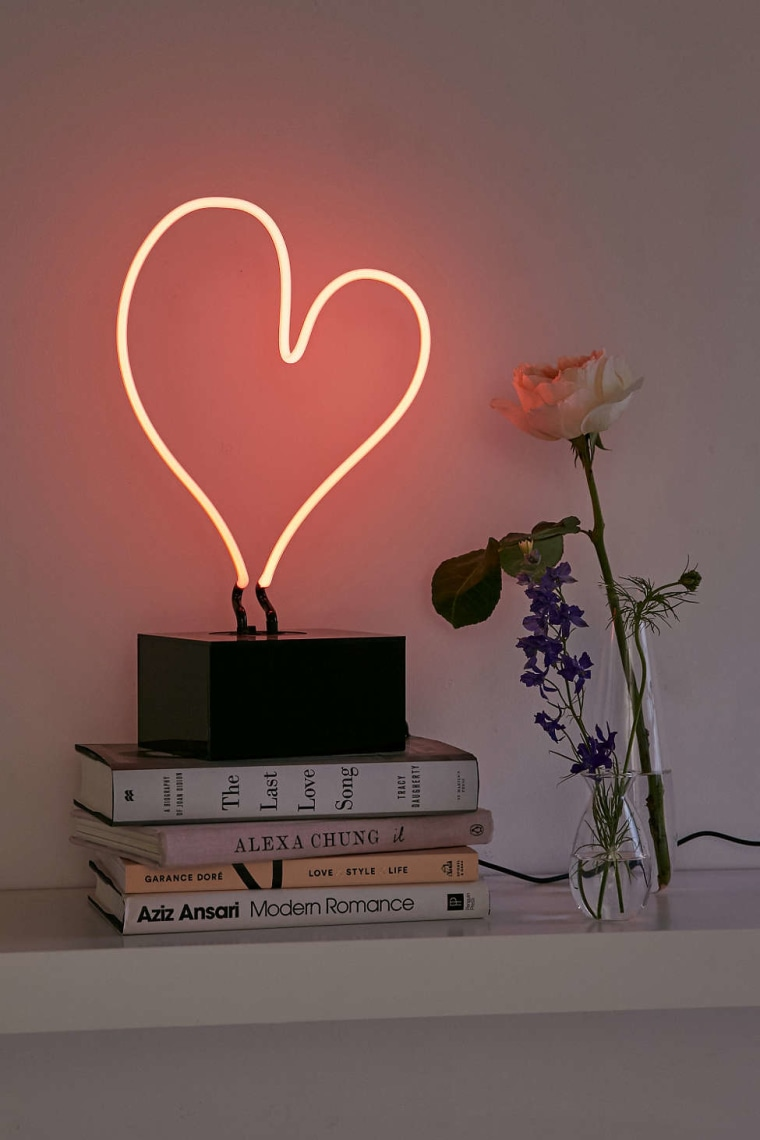 Heart Neon Table Lamp