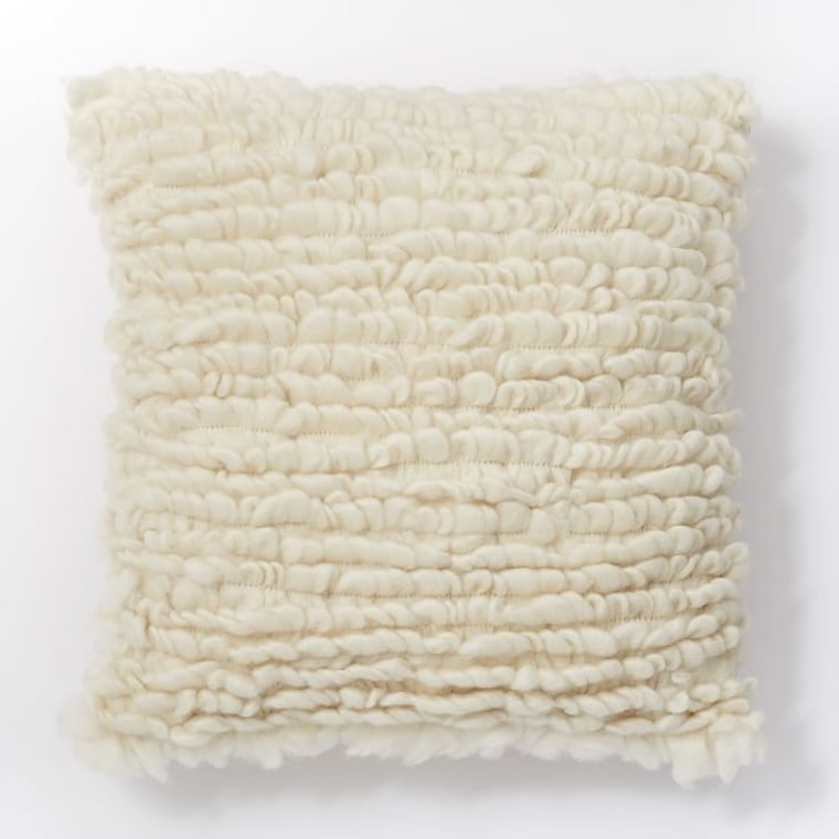 Looped Pillow Cover