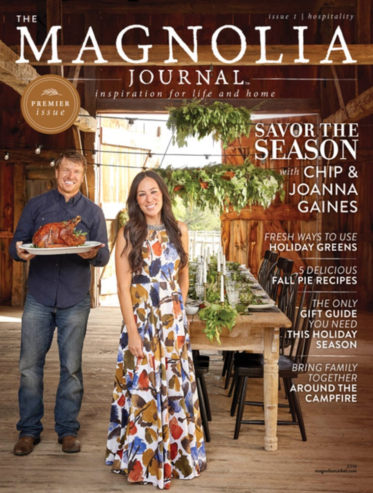 Say hello to the debut issue of Magnolia Journal!
