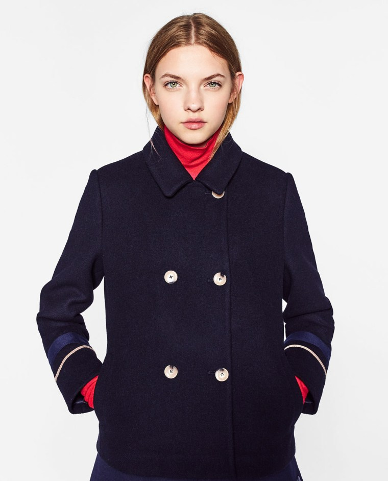 Fall Coats Under 100 Wool Toggle Shearling Quilted