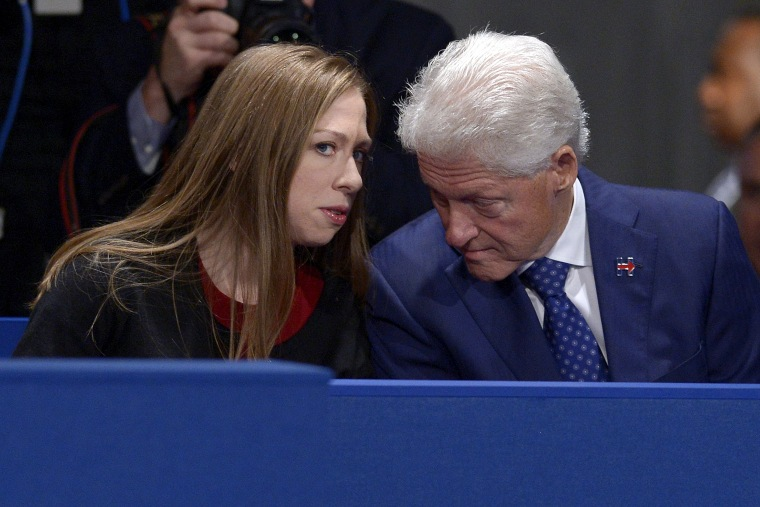 Image: Chelsea Clinton, Bill Clinton