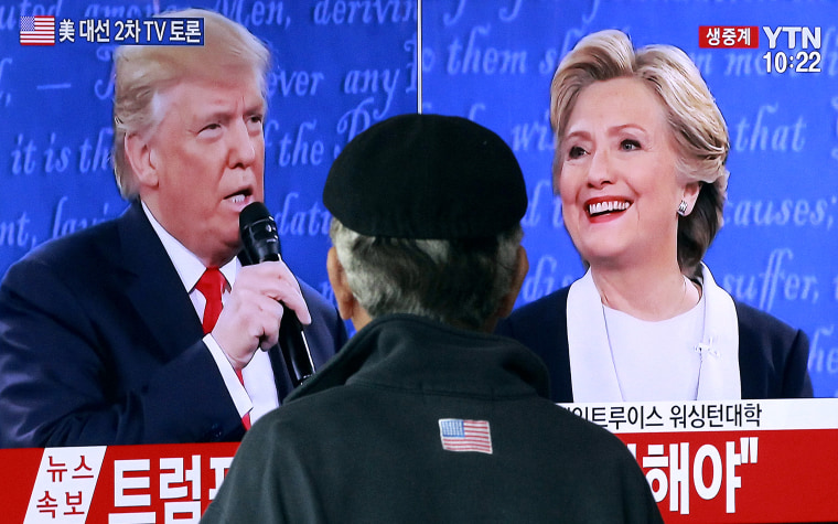 Image: Hillary Clinton, Donald Trump