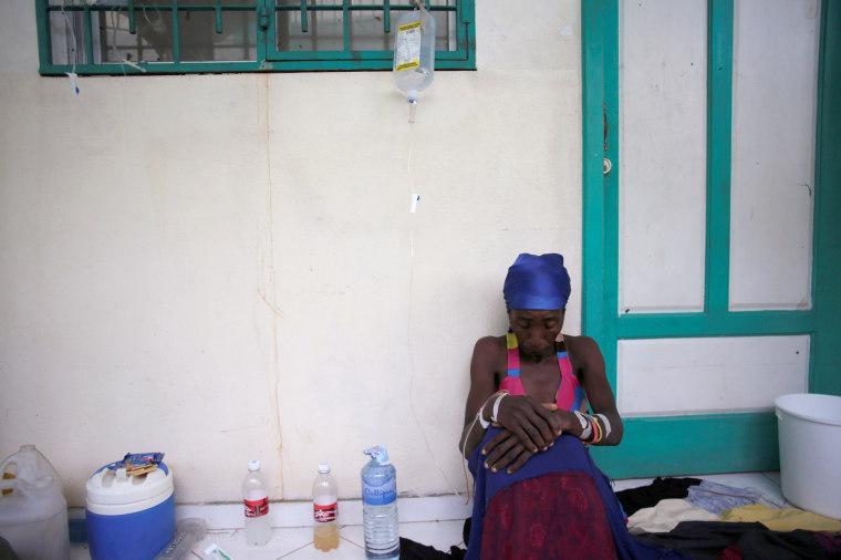 Image: Cholera Spreads in Haiti After Hurricane Matthew