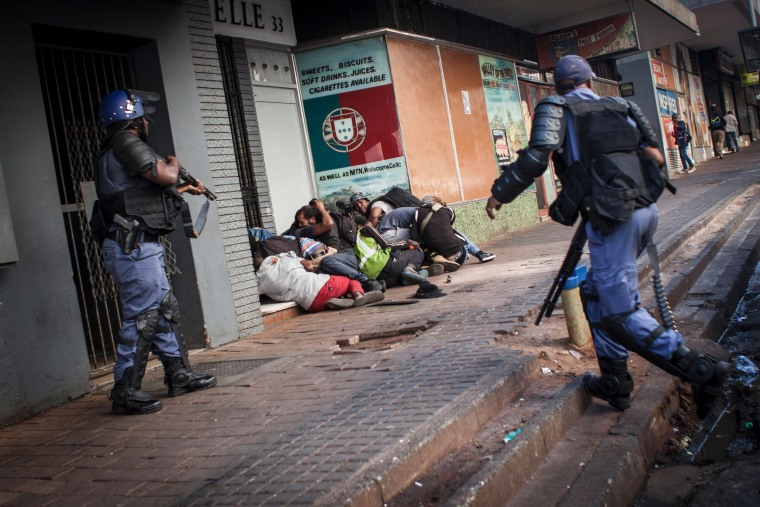 Image: SAFRICA-EDUCATION-PROTEST-DEMO
