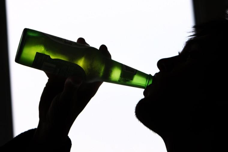 Image: Binge drinking