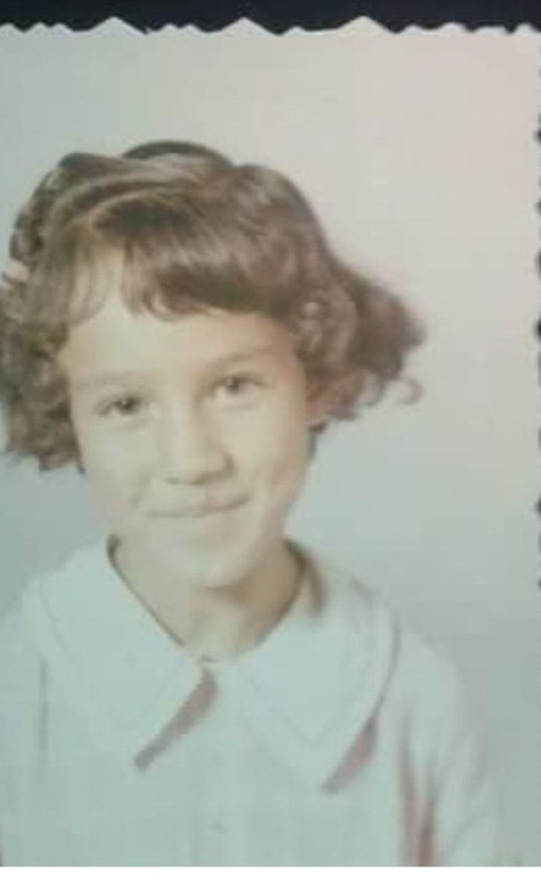 JUDY SERNA as a child, plaintiff in the lawsuit Serna v. Portales School District, 1974.